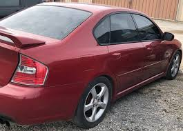 burgundy subaru legacy 2006 subaru legacy awd 2 5 gt limited 4dr sedan w black int 2 5l