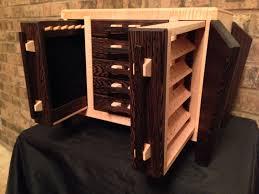 mele co winslow wooden jewelry box in mahogany finish loversiq