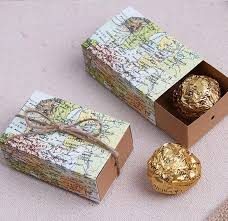Map Favors by 100pcs Lot Wedding Sweet Favor Box Around The World Map Favor