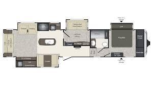 5th wheel floor plans 2018 keystone laredo 380mb model