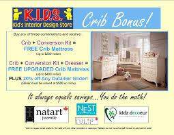 Crib Mattress Clearance Crib Bonus Mattress Discount Interior Design Store