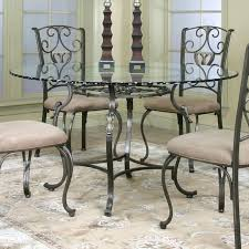 Surprising Round Glass Kitchen Tables Small Round Glass Dining - Glass kitchen tables