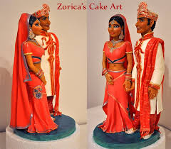 indian wedding cake toppers indian wedding cake topper all edible the figures made from