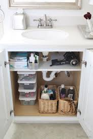 Bathroom Sink Storage Solutions Creative Sink Storage Ideas Hative Regarding Bathroom Vanity