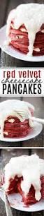 red velvet cheesecake pancakes recipe cheesecake pancakes red