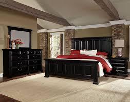 woodlands mansion bedroom set black vaughan bassett furniture cart