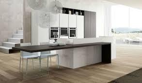 plan cuisine moderne attractive cuisine moderne design avec ilot 6 plan de travail