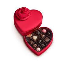 valentines chocolate 15 pc s day keepsake chocolate heart godiva
