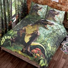 t rex dinosaur jurassic jungle bedroom range single double