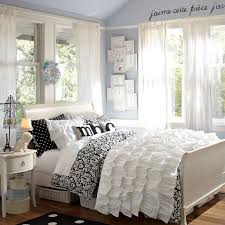 Black And White Bedroom Teenage What U0027s Black White And Chic All Over A Teen Bedroom Makeover In