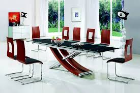 Black Glass Extending Dining Table How To Choose A Glass Dining Table Dining Table Glass Dining