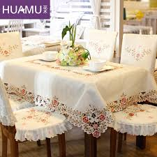 dining table chair covers grade embroidered top dining table cloth thick warm chair covers