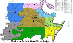 Map Of Parishes In Louisiana by Madison Parish Maps