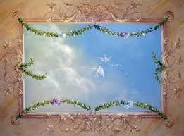 soffitti dipinti trompe l oeil