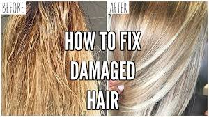 Washing Hair After Coloring At Home - how to fix extremely damaged hair at home youtube
