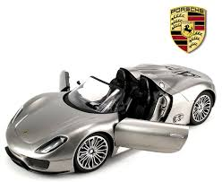 porsche spyder 918 amazon com licensed porsche 918 spyder remote control rc car big