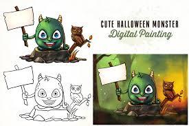 cute happy halloween sign pixaroma halloween graphics bundle 90 discount on behance