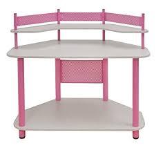 Pink Computer Desk Calico Designs 55122 Study Corner Desk Pink Arts