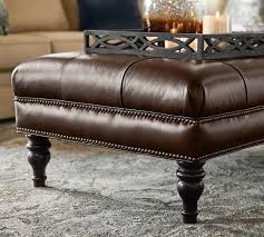 leather storage ottoman cube home town bowie ideas leather