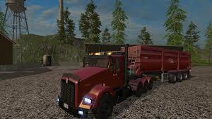 kenworth t800 kenworth t800 v1 2 fs 2015 farming simulator 2017 2015 15