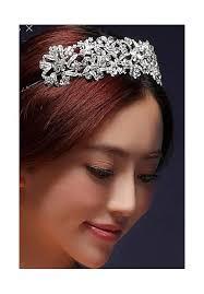 serre tãªte mariage serre tête argenté mariage fiançailles coiffure au royaume du bijou