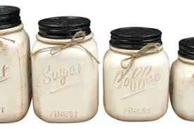 29 rustic kitchen canisters containers go home ltd set of 2