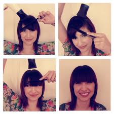 from our archives hair how to u2013 blowdrying bangs conquering