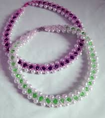 beads bracelet easy images Free pattern for beutiful beaded necklace beads magic jpg