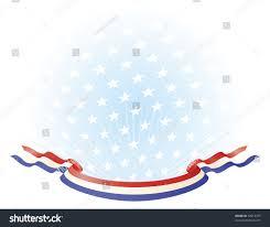white blue ribbon white blue ribbon banner across stock vector 72012379