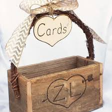 wedding gift card amount shabby chic wedding gift card box from butterbeanvintage on
