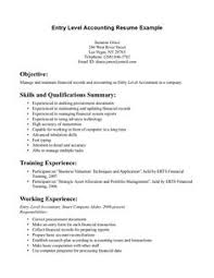 Example Of Accountant Resume by Sample Resume Format For Fresh Graduates One Page Format Resume