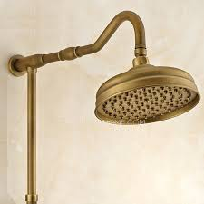 Brass Shower Faucets Brass Outside Wall Mount Ceramic Shower Faucets System