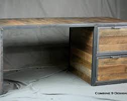 desk with drawers etsy