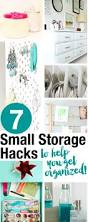 7 small storage and organizing hacks