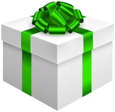 green gift bow white gift box with green bow png clipart best web clipart