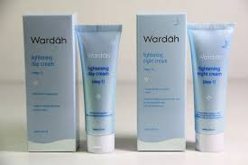 Wardah Krim Malam Dan Siang wardah lightening day and step 1 toko kecantikan