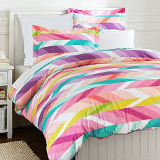 Teenage Duvet Sets Ikat Stripe Duvet Cover Sham Pbteen
