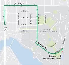 Washington Traffic Map by Traffic Alert Northgate Link Extension Sound Transit