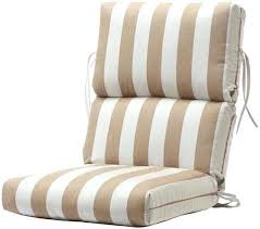 High Back Patio Chair Outdoor Armchair Cushions Image Of High Back Outdoor Chair