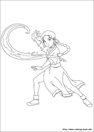 Avatar The Last Airbender Coloring Pages Avatar The Last Pictures Coloring Pages To Print And Color