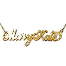 carrie name necklace two capital letters gold plated carrie name necklace mynamenecklace