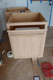 how to turn a base cabinet into a kitchen island how to make a sink base out of a regular cabinet kick