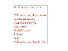 the moment matter thanksgiving dinner menu and place card