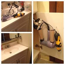 Under Bathroom Sink Cabinet From Cord Clutter To Clean Run An Extension Cord Under The Sink