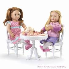 tea party table and chairs amazon com our generation tea party set for 18 dolls toys games