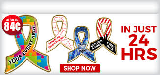 custom awareness ribbons ribbon pins custom ribbon pins awareness ribbon pins