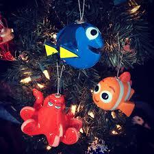 dan the pixar fan finding dory hallmark decoupage ornaments