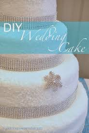 wedding cake diy diy wedding cake