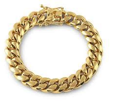 link bracelet images 12mm miami cuban link bracelet flooded png