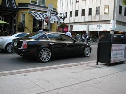 maserati custom maserati quattroporte with custom rims 4 madwhips